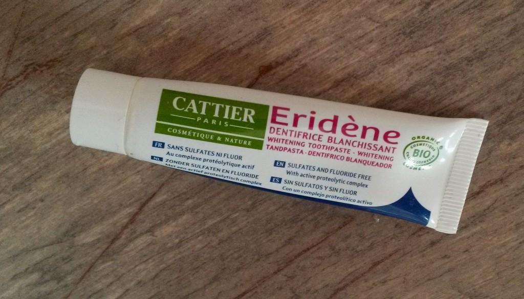 cattier eridene tooth paste