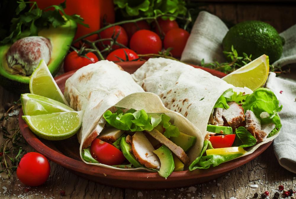 fast food, vegetable