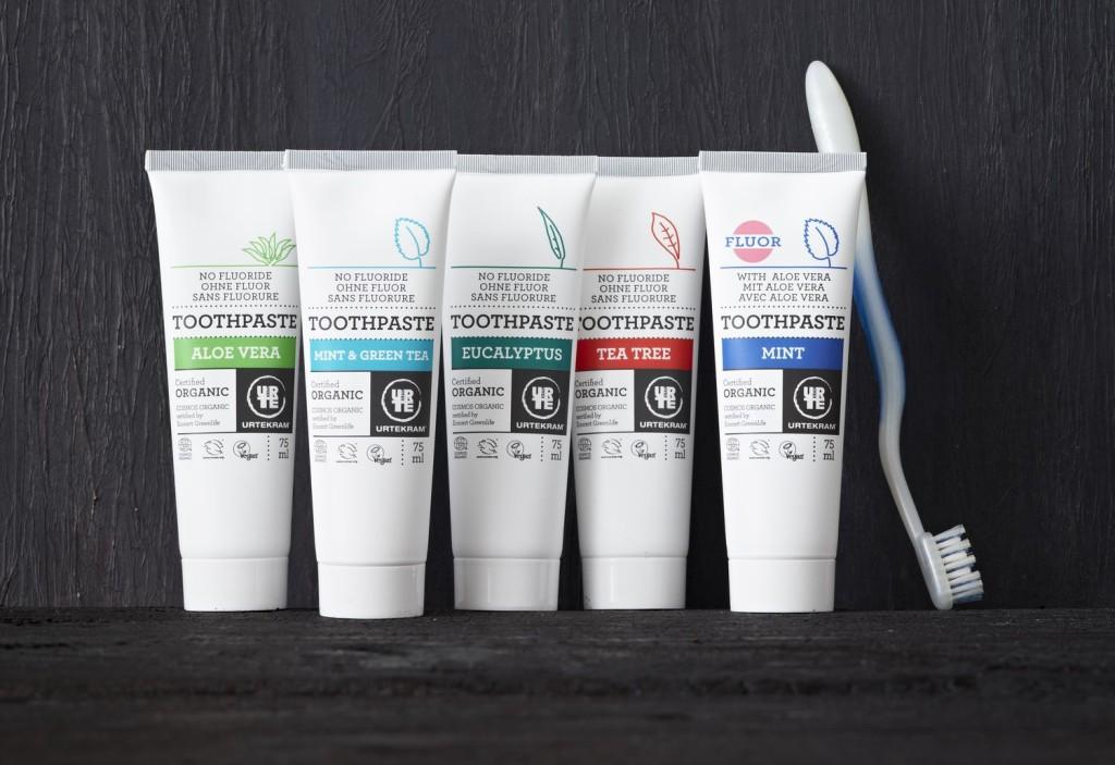 toothpaste Urtekram