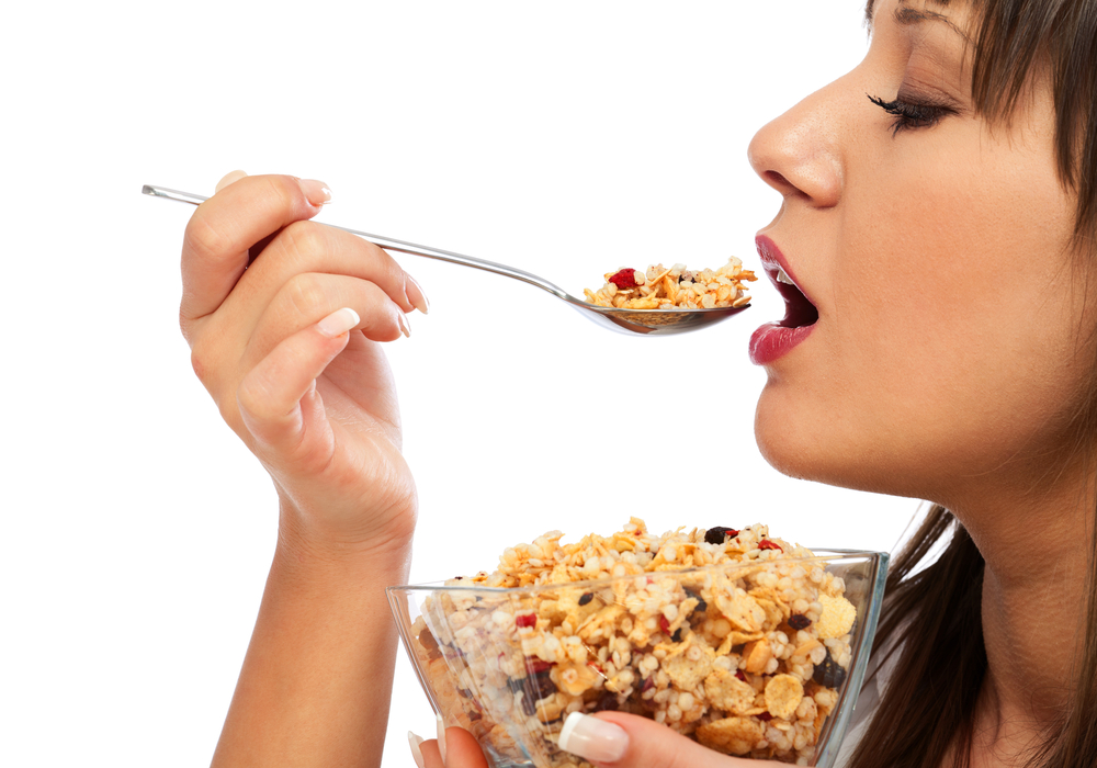 granola, eat