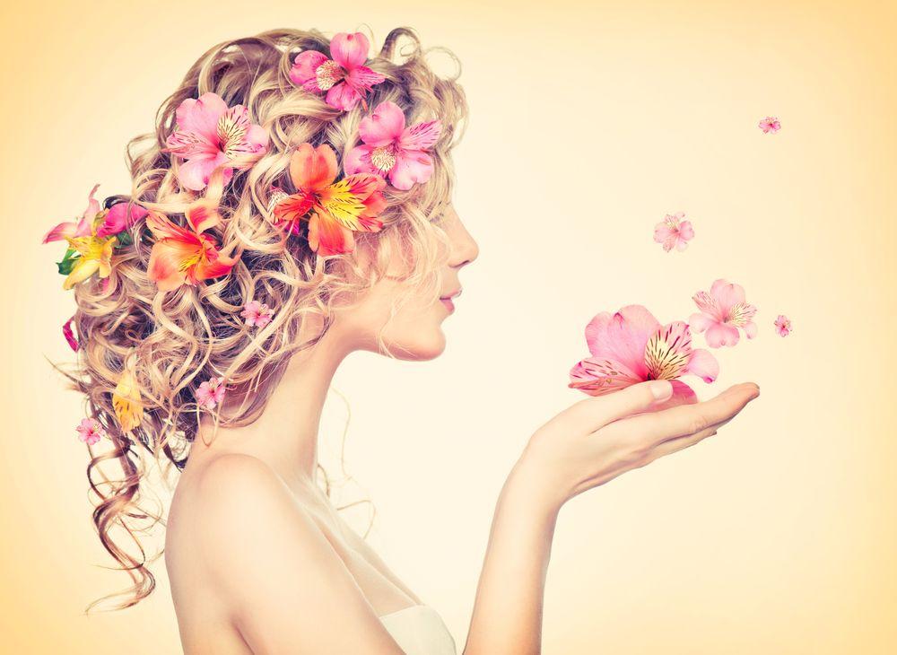 girl flower summer gift
