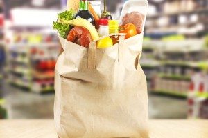 shopping bag eco bio market shop