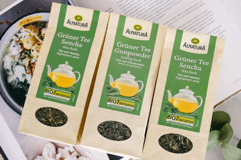 Alnatura organic tea Trifonova