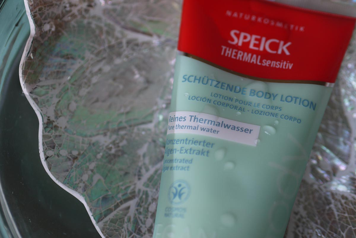 speick thermal body milk