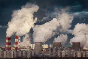Воздух в городах России