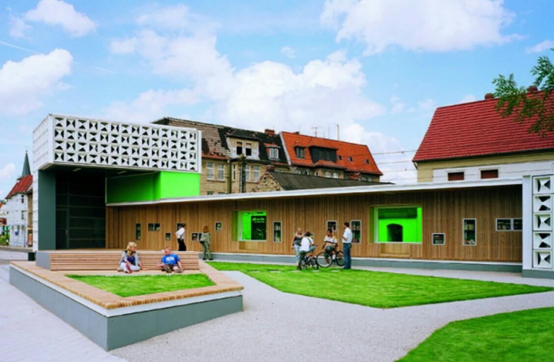 Библиотека Lesezeichen Salbke