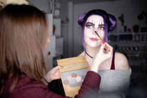 helloween makeup varya zao