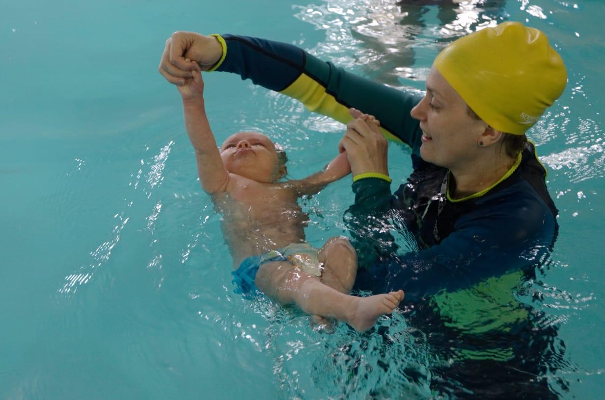 Анна Смирнова, инструктор по грудничковому плаванию