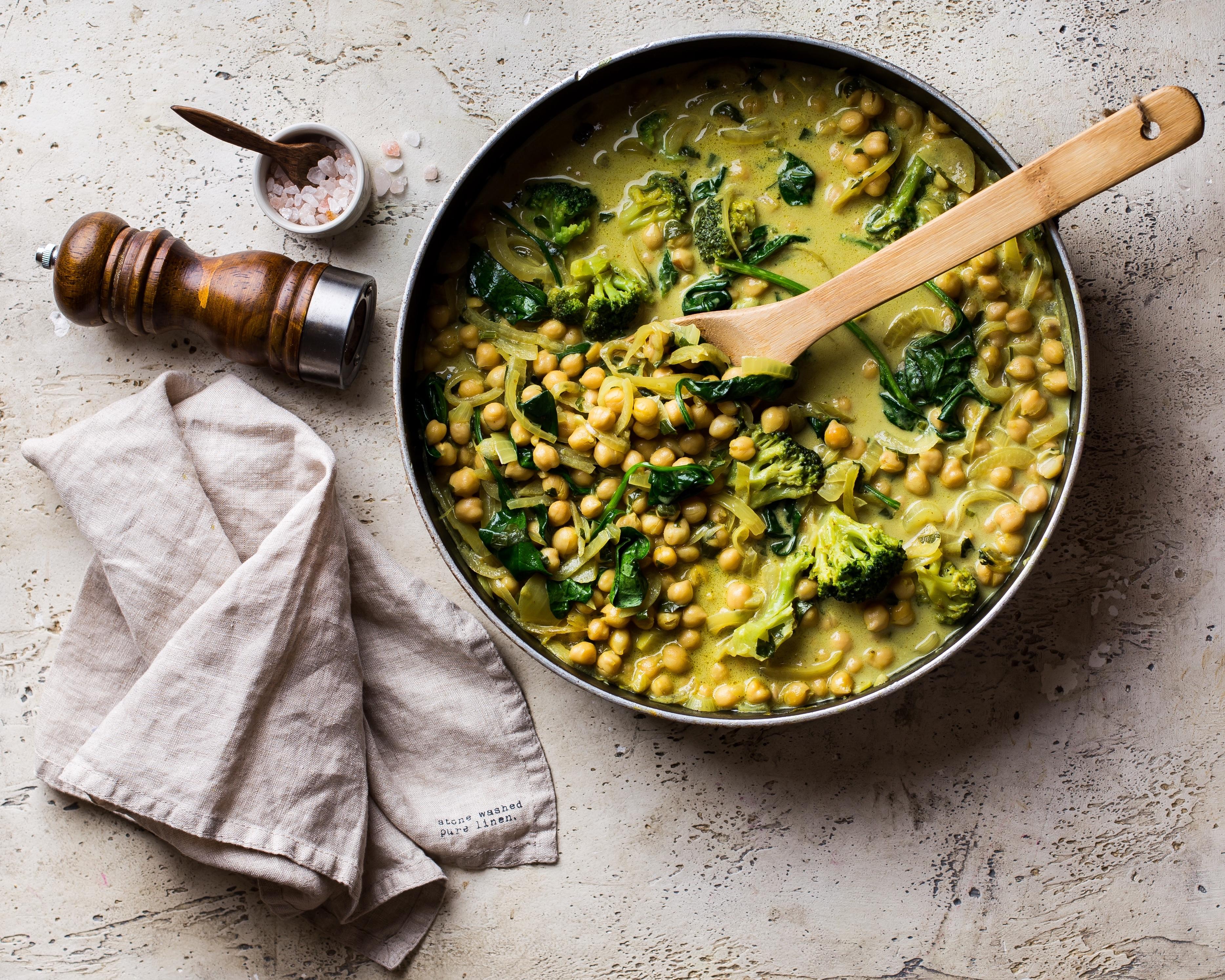 curry nut skovorodka