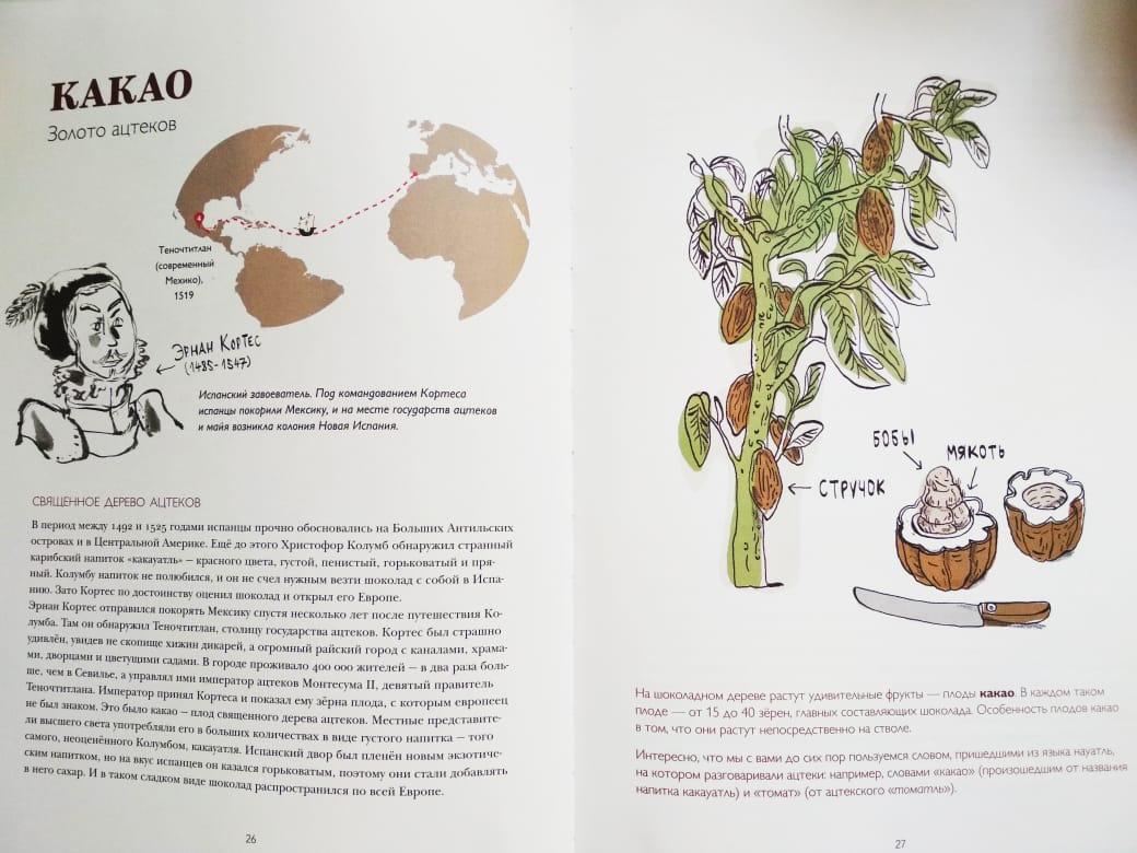 kniga vkusnaya istoriya cacao