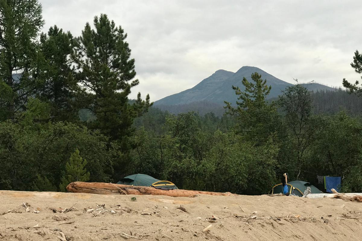 баргузинский хребет горы байкал тайга сибирь