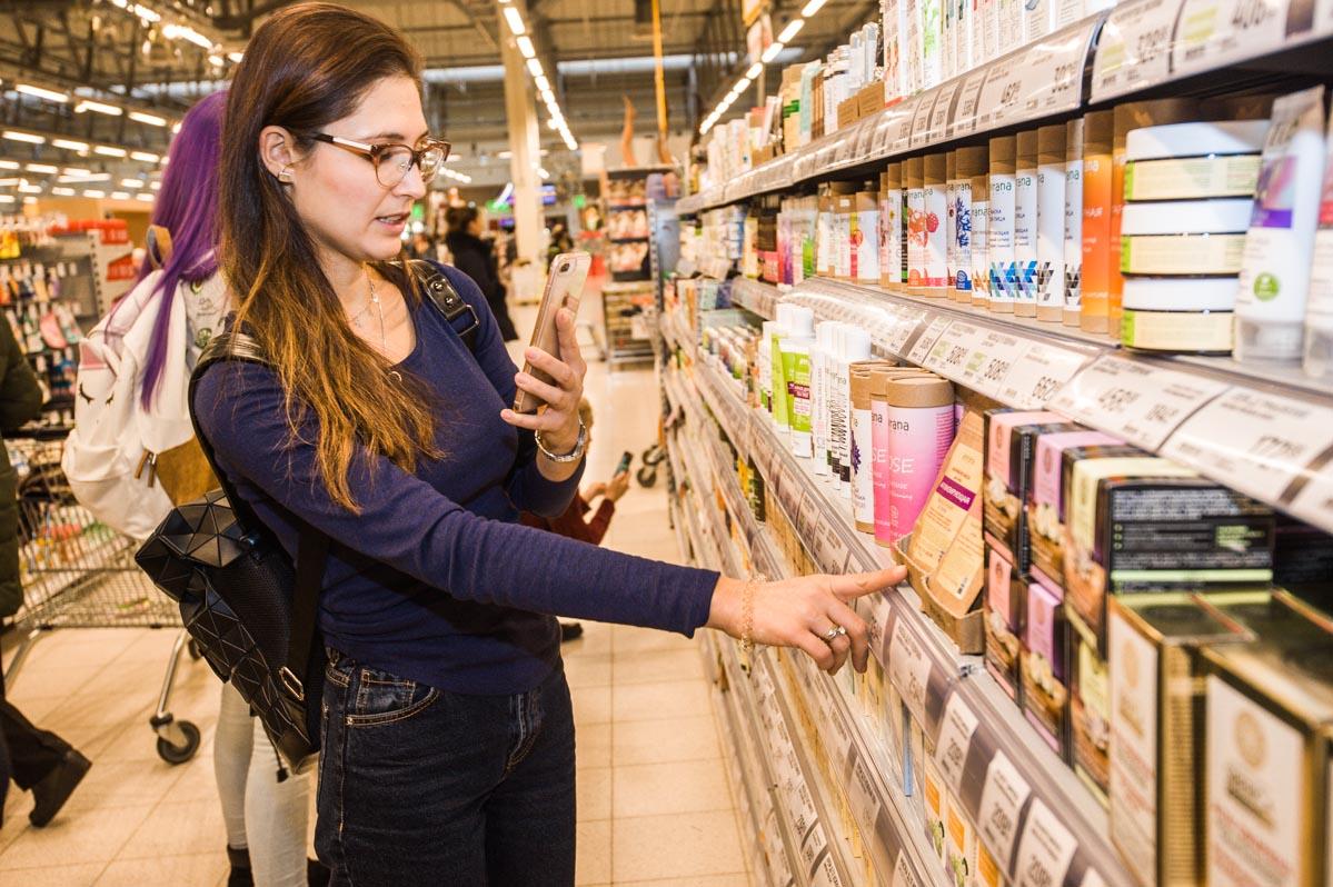 Блогер Вероника Савченко выбирает натуральную косметику
