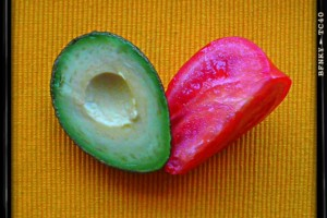 avocado and tomato ideal couple