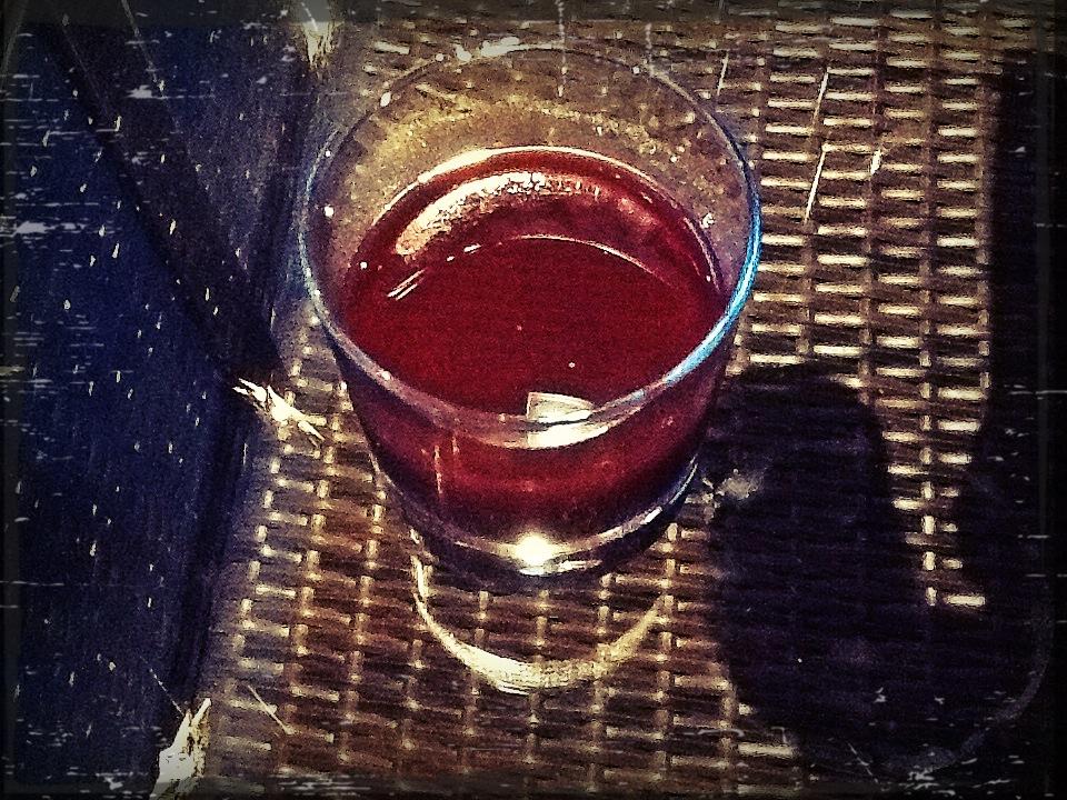 goxy drink in a glass