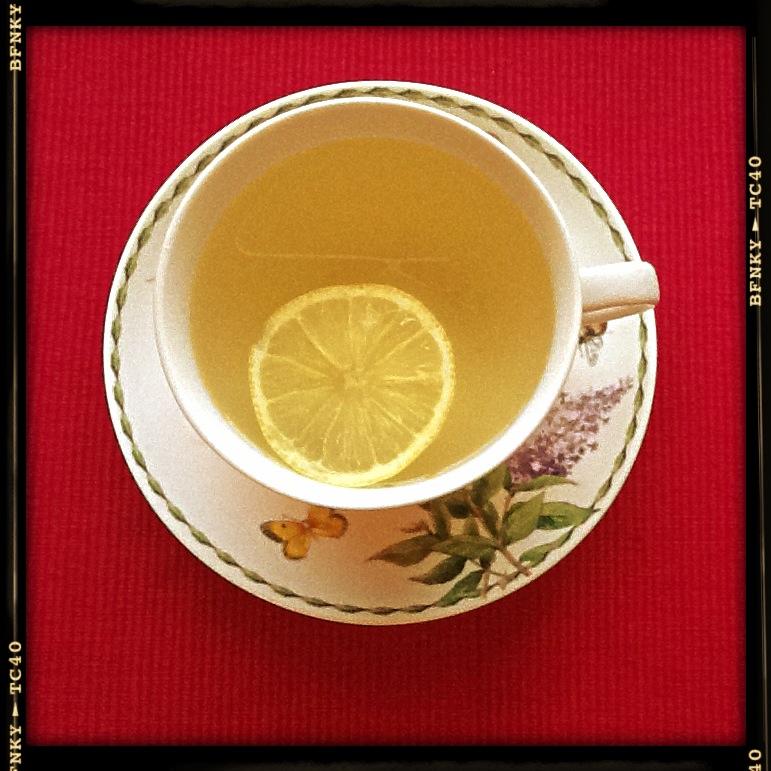 green tea and lemon ideal couple