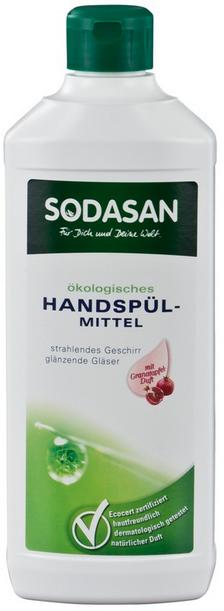 Sodasan dishwashing liquid