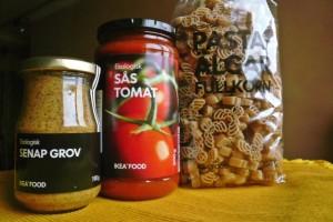 ikea pasta sauce mustard