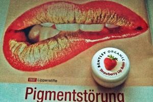 """Немецкий журнал """"Ото Тест"""" и бальзам для губ Bentley Organic"""