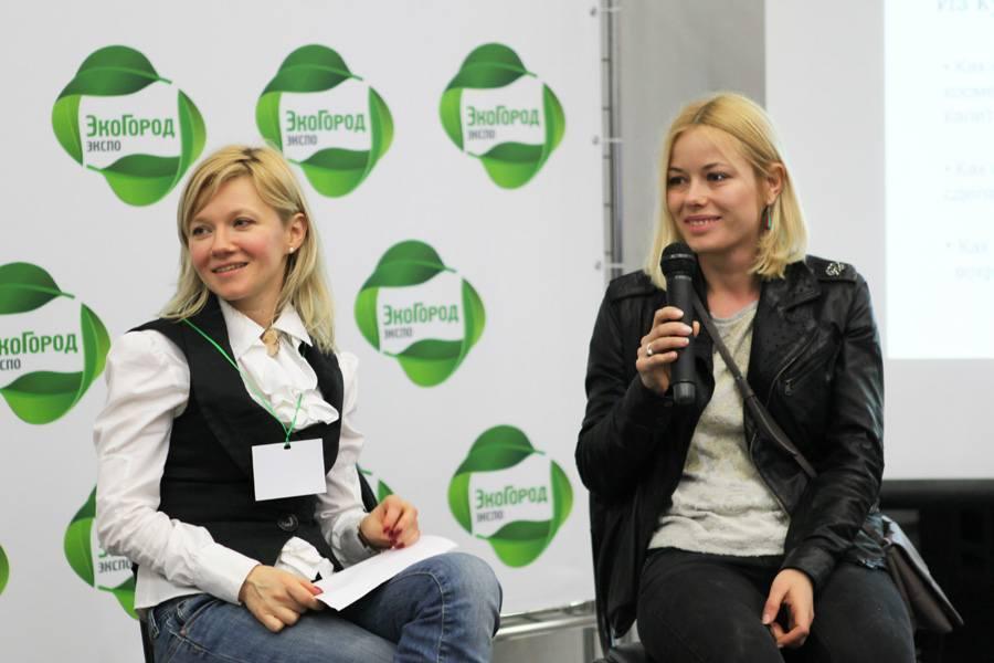 Слева направо: Татьяна Лебедева, Катерина Карпова