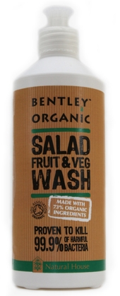 bentley organic salad fruit wash