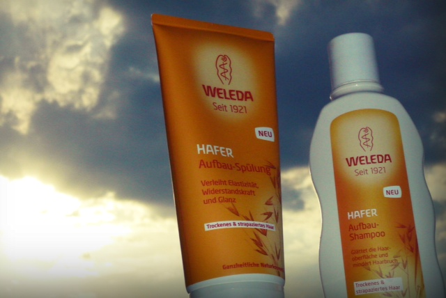 weleda shampoo and conditioner dry har