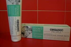 organic people зубная паста лр