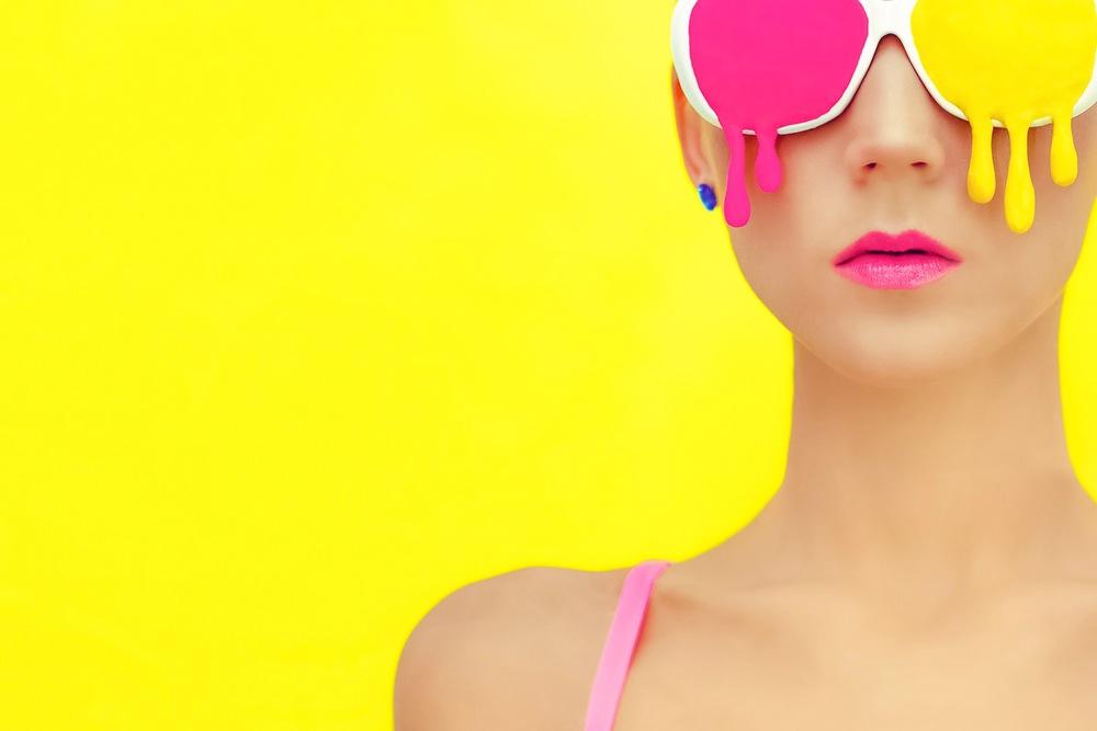 желтый цвет косметика