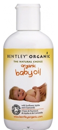 bentley organic massage baby oil