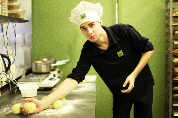 """В пекарне магазина """"Биостория"""""""