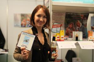 Анна Карлин (La Vegetal-Progress) на Wellness EXPO-13