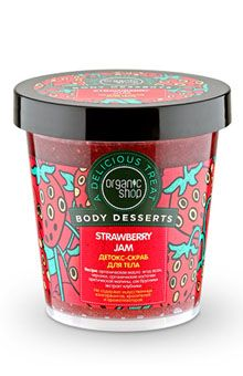 organic shop strawberry jam