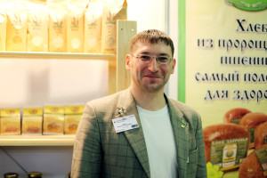 "Андрей Ходус, глава НП ""Агрософия"", фото: Полина Глебова"