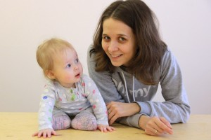 Анна Резникова с дочкой Яной