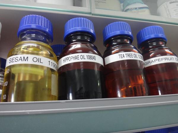 Косметические масла в лаборатории
