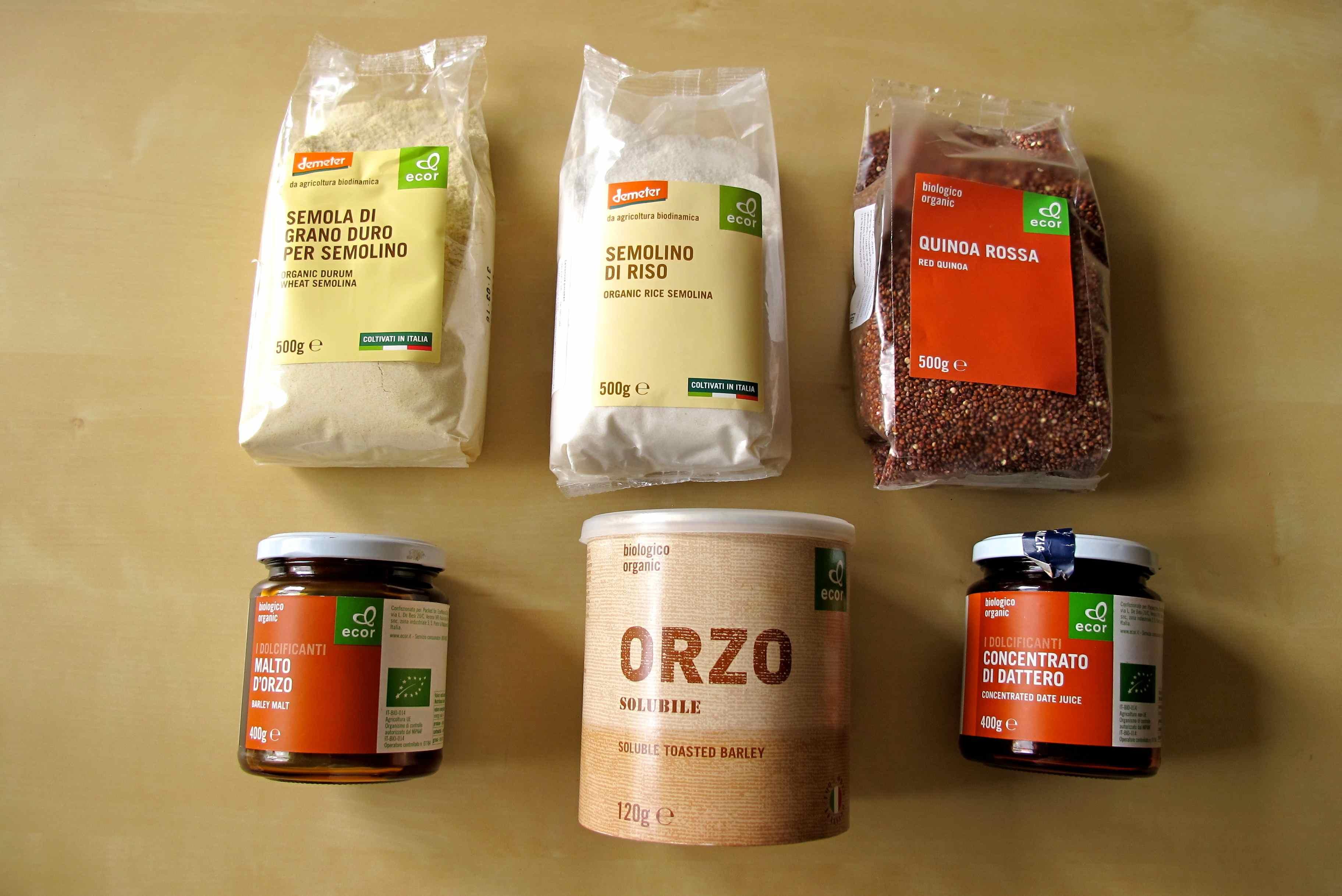Ecor goods selection 1