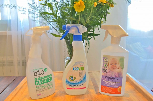 Glass and mirror cleaners Ecover Bio-D Organic People 3