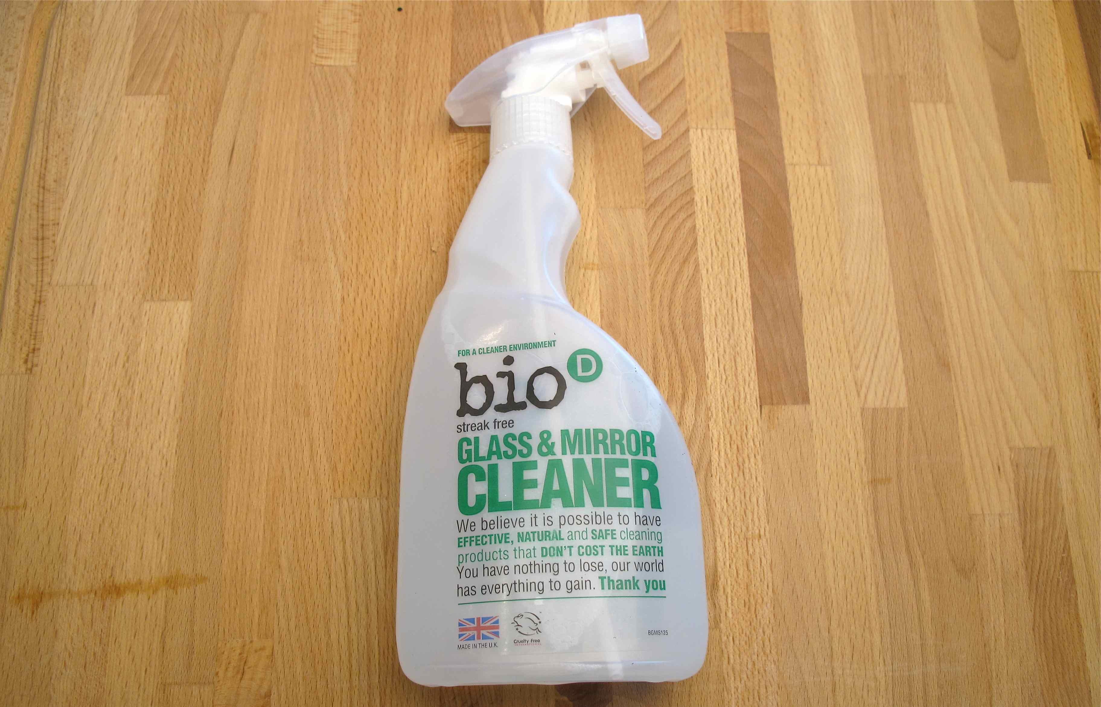 Bio-D glass mirror cleaner