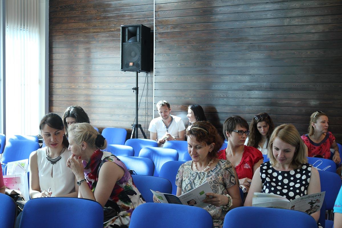 перед форумом, фото: Нина Филиппова, Натур Продукт
