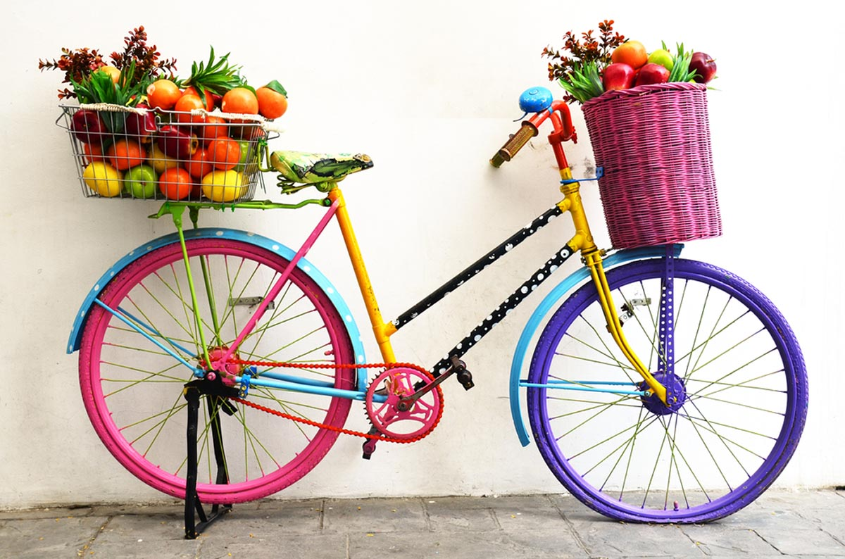 fruit velosiped