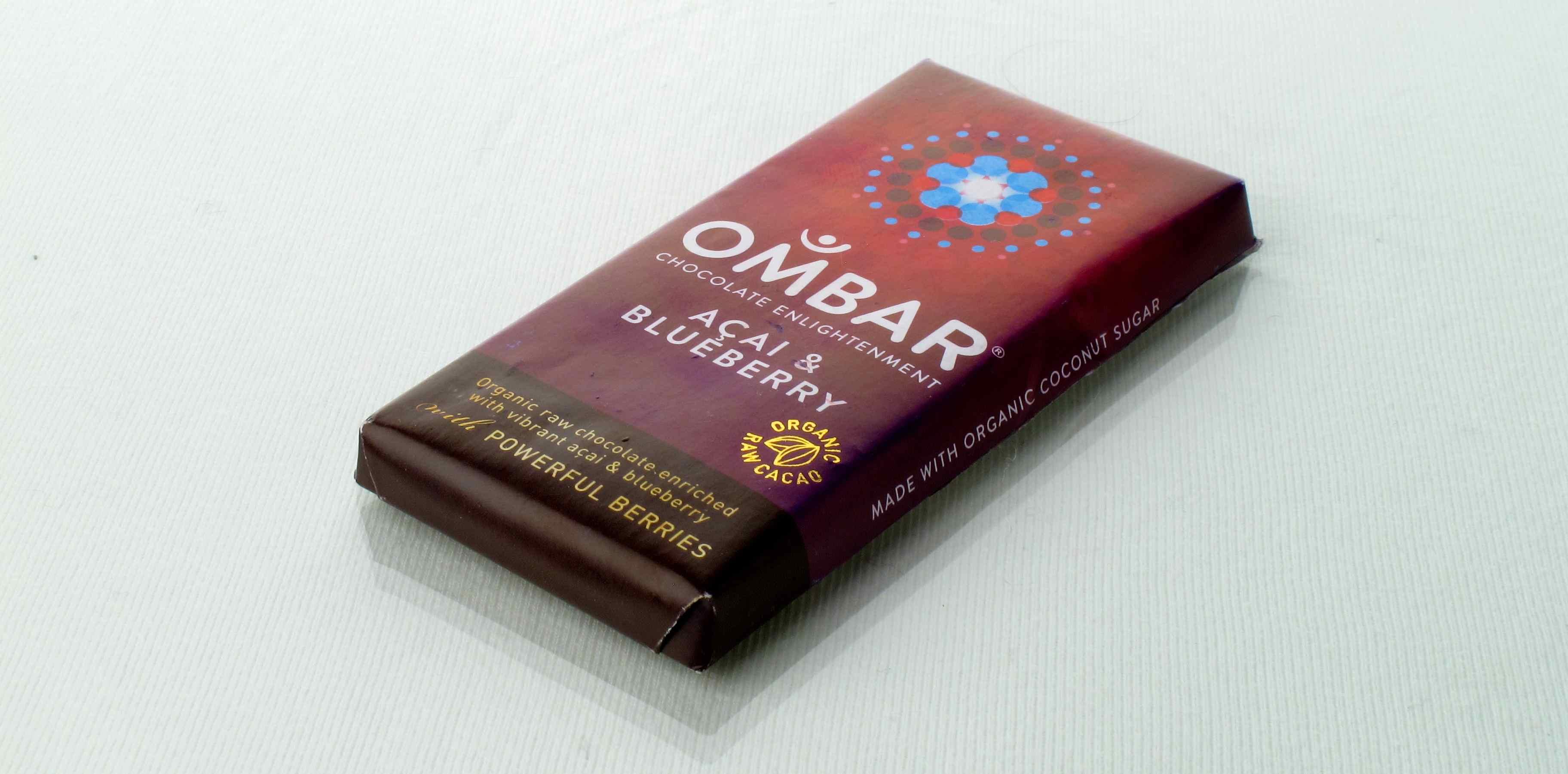 Ombar chocolate acai