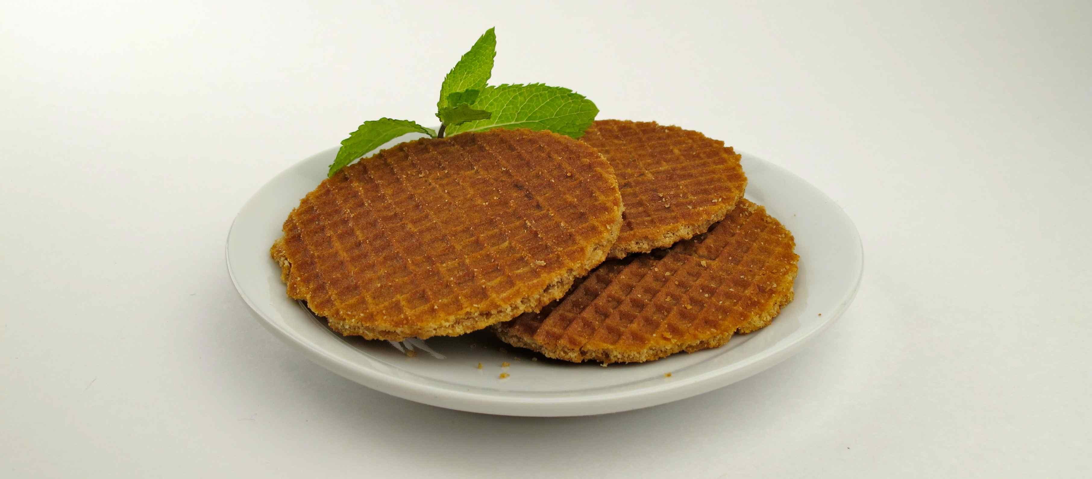 Waffles vegan inside