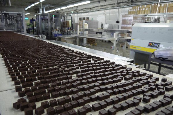 Шоколадные кубики Ozera