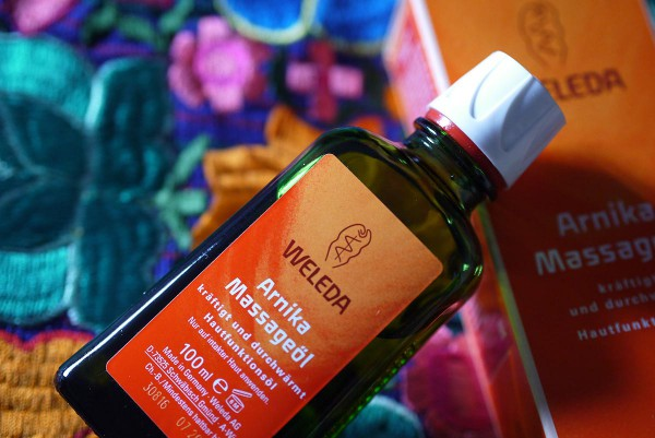 weleda massage oil