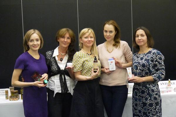 Рабочая группа LookBio, слева направо: Дарья Королева, Елена Коваль, Татьяна Лебедева, Елена BeautyMaze, Наталья Соколова