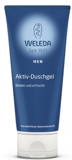 weleda shower gel man