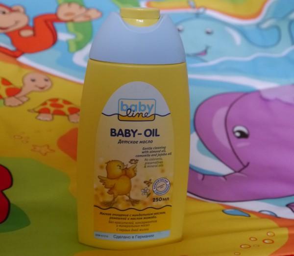 Babyline baby oil