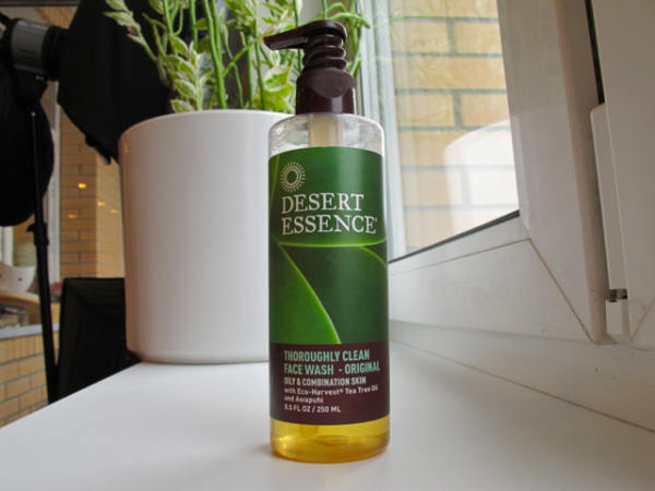 Desert Essence face wash