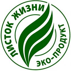 Listok Zhizni Eco-produkt seal
