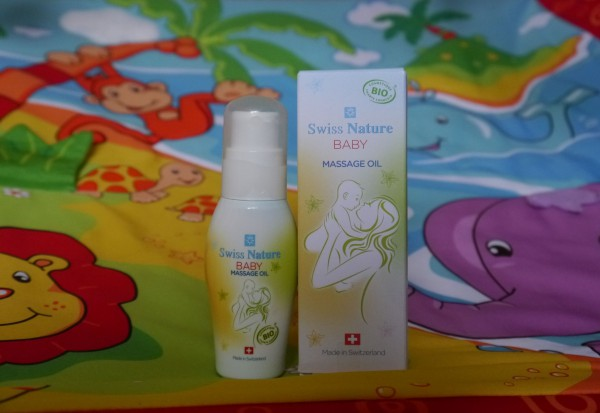 swiss nature baby massage oil