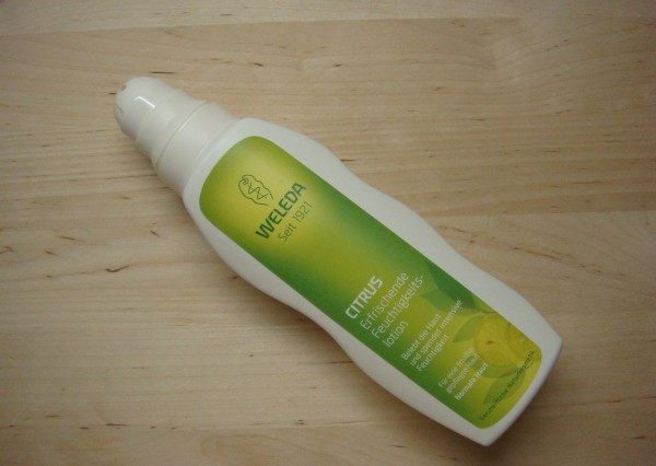 weleda citrus lotion